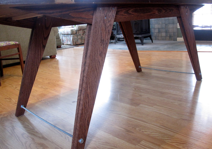 Table frame and legs