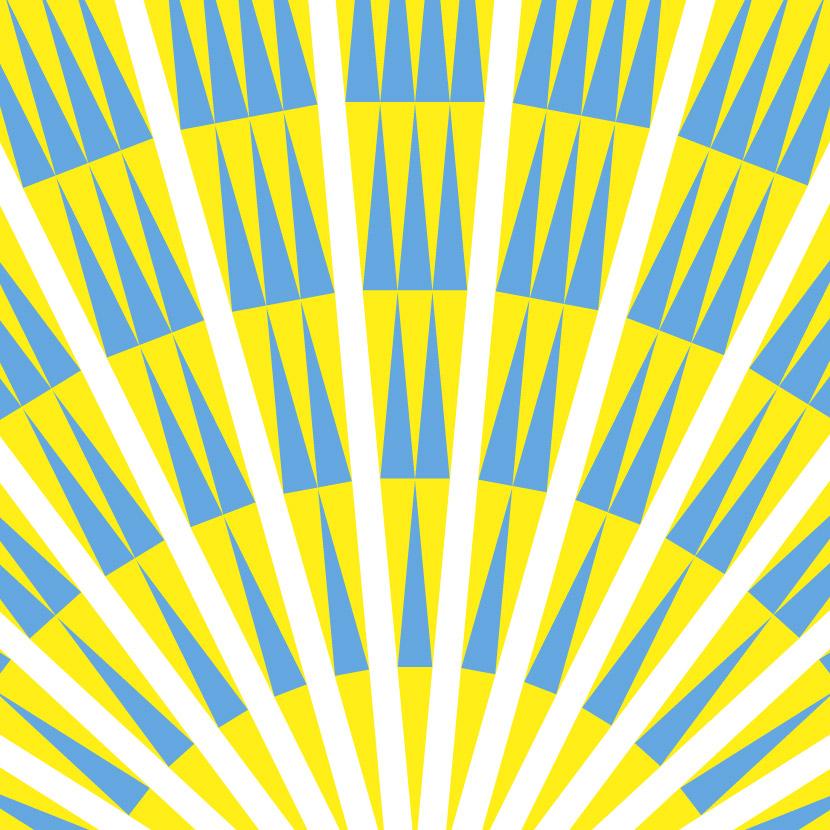 Tesselating quilt pattern