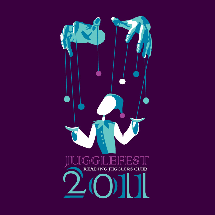 Reading Juggling Club Jugglefest 2011 Logo
