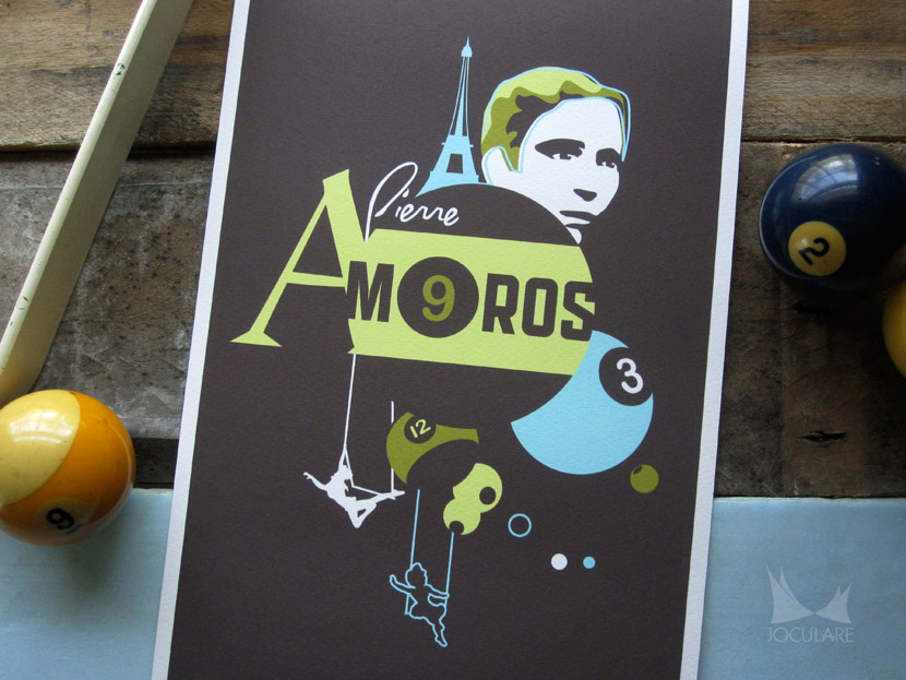 Pierre Amoros design by Joculare
