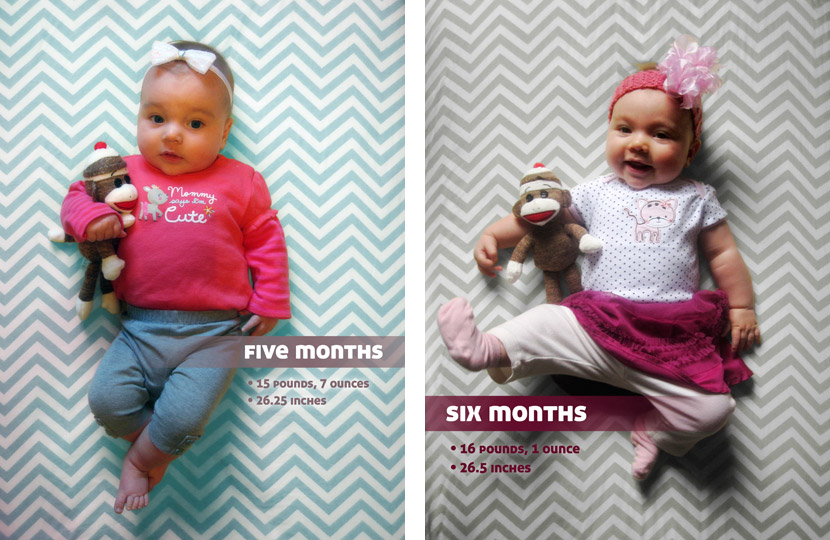 Month five and six