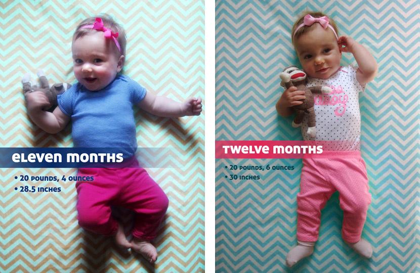Month eleven and twelve