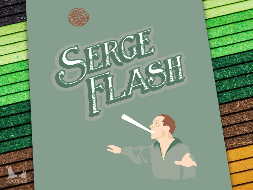 Serge Flash design by Joculare