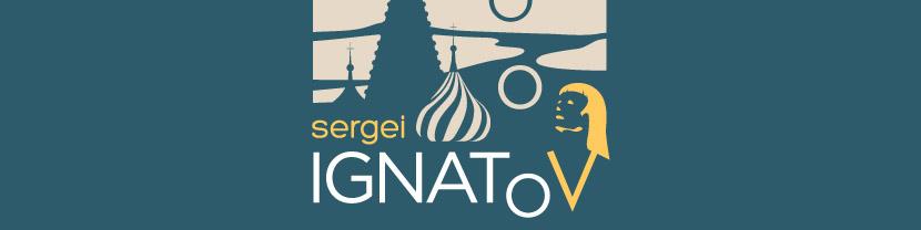 Joculare poster design of juggler Sergei Ignatov