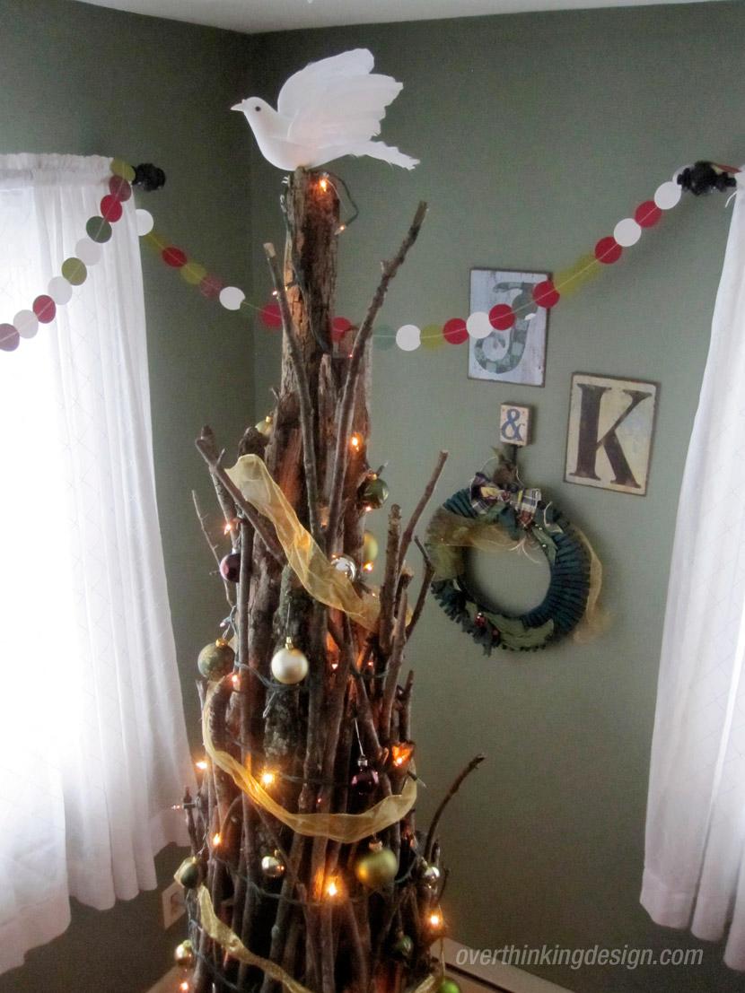 Christmas Tree Shaped Like A Sheaf